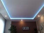 Sádrokartonová rampa - LED osvětlení