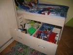 Dětská postel s úložným prostorem