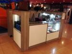 Prodejní stánek v Táboře s LED osvětlením